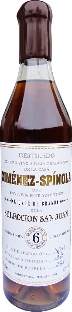 """Brandy Ximenez Spinola """"San Juan"""" N°6"""