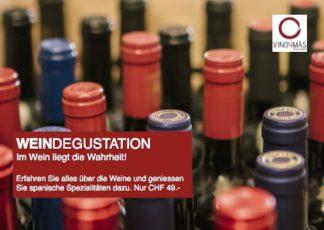 Weindegustation in Wert von 49.-